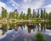 Озеро Тёплое. Природный парк Ергаки. Фото: Михаил Зверев