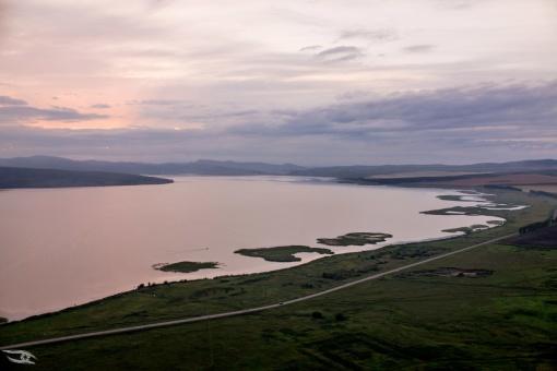 Озеро Большое, Шарыповский, фото