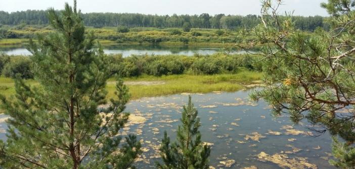 Иркутская область. Иркутский район. Река Ангара.   фото: Остап Шимко