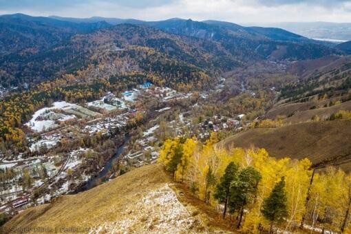 Торгашинский хребет, Красноярский край, фото