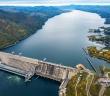 Красноярская ГЭС, фото