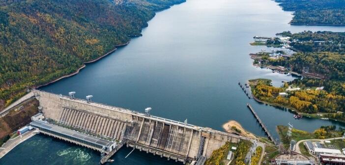 Красноярская ГЭС, фото: Сергей Филинин