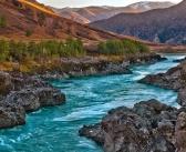 Река Катунь, осень в горах Алтая Фото: Олег Ивастов