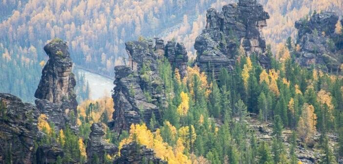 Осень на Кутурчинском белогорье, Красноярский край Фото: Ирина Якунина