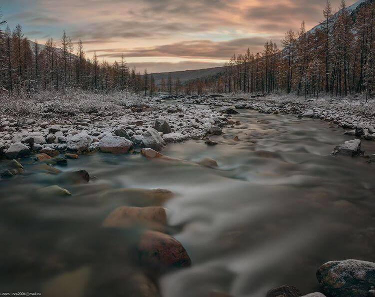Долина реки Актру, Республика Алтай, Фото