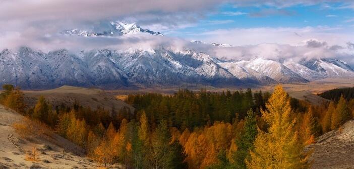 Осенний Кодар, Забайкалье Фото: Андрей Ершов