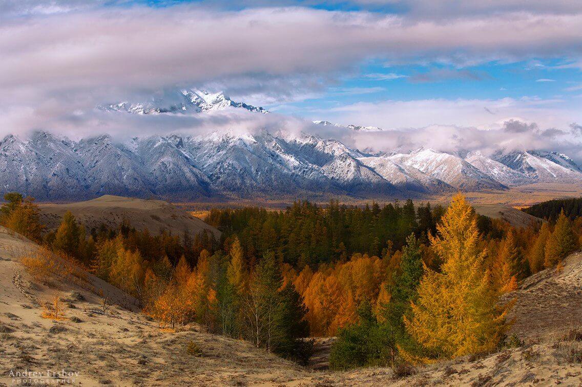 Осенний Кодар, Забайкалье, Фото