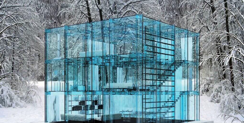 конструкции из стекла