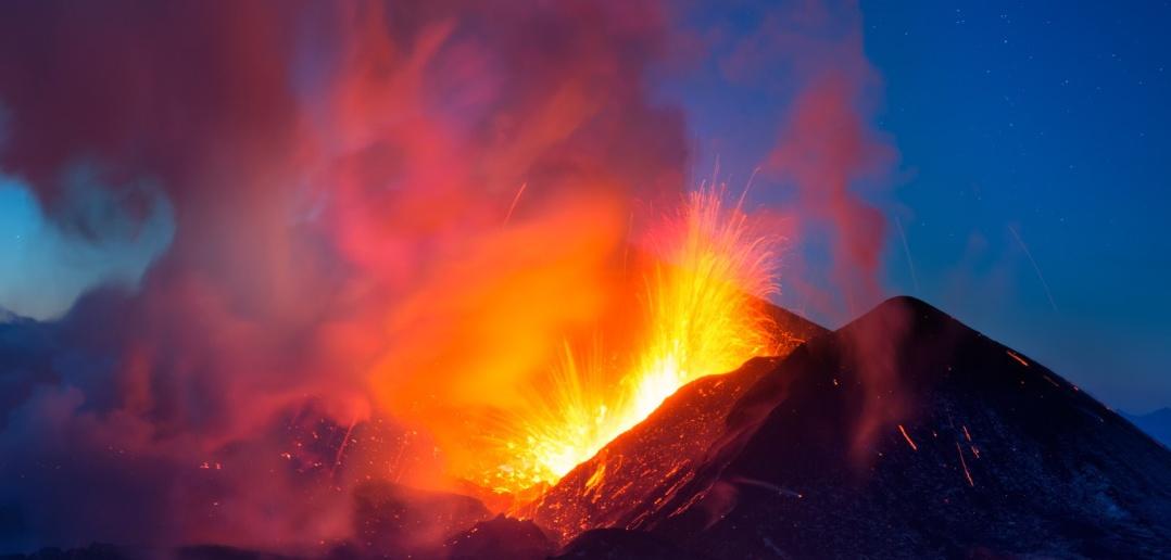 Извержения Толбачика, Камчатка.