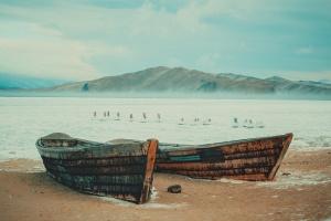 Байкал в Январе