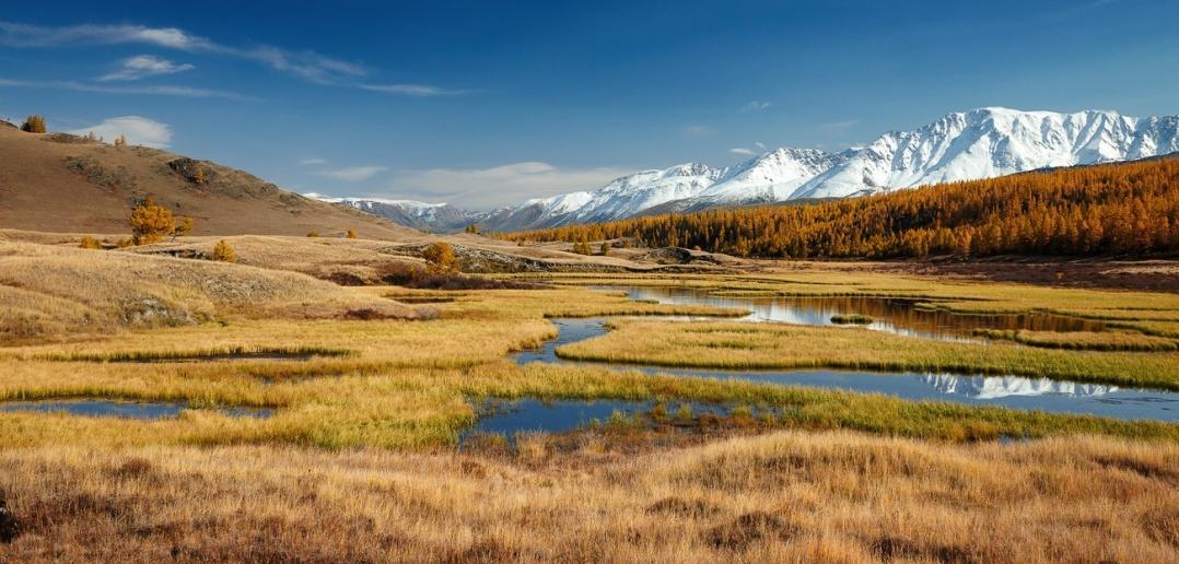 Озерца и болотины урочища Ештыкель