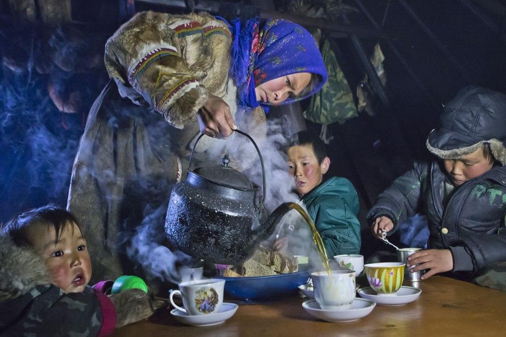 Чаепитие в тундре