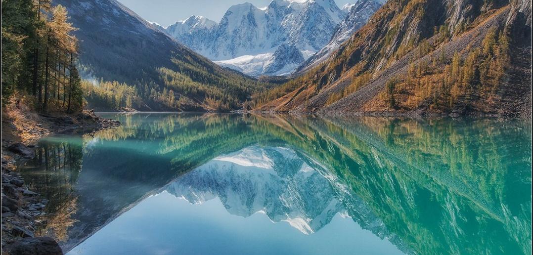 Нижнее Шавлинское озеро. Алтай.