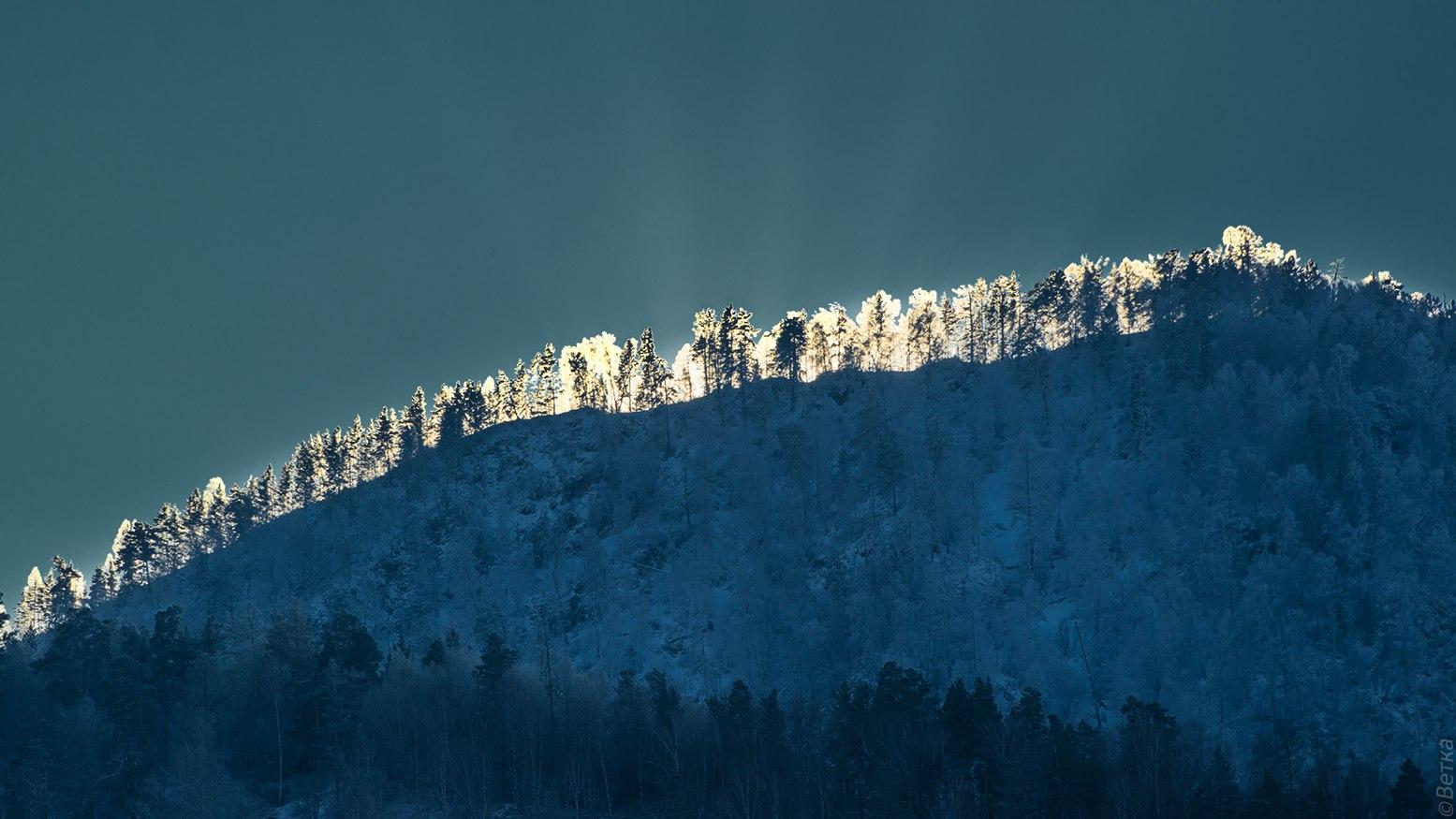 Солнце ушло за гору