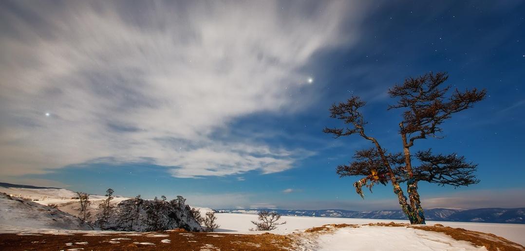 Озеро Байкал, остров Ольхон.