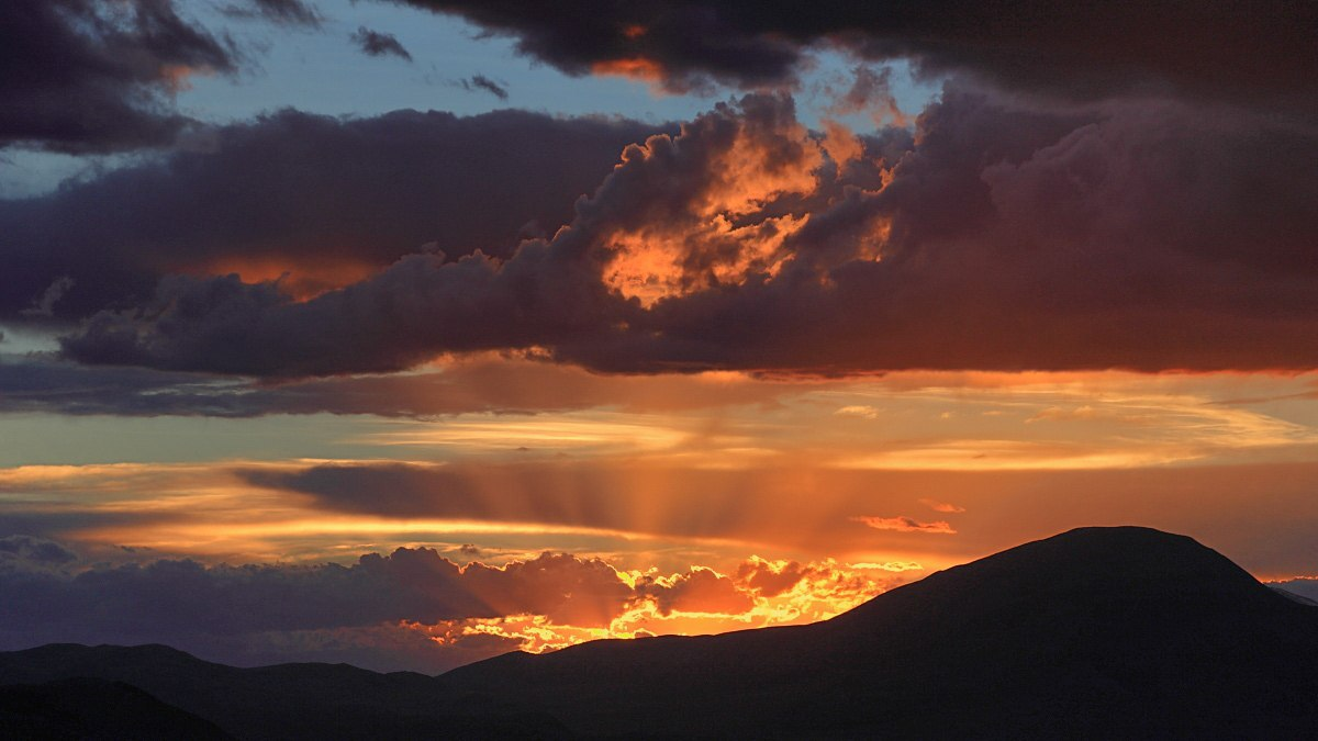 Закат, Алтай