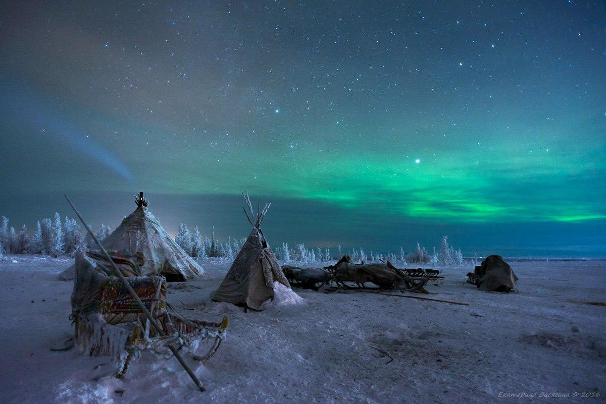 Ямальская ночь…