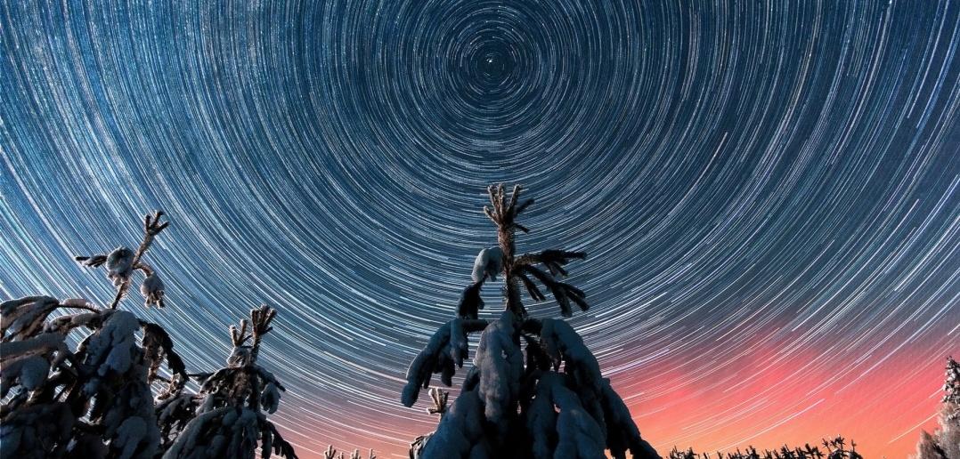 Звездное небо Сибири.
