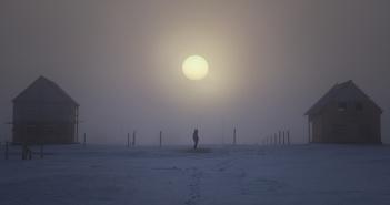 Северное солнце... Республика Якутия.