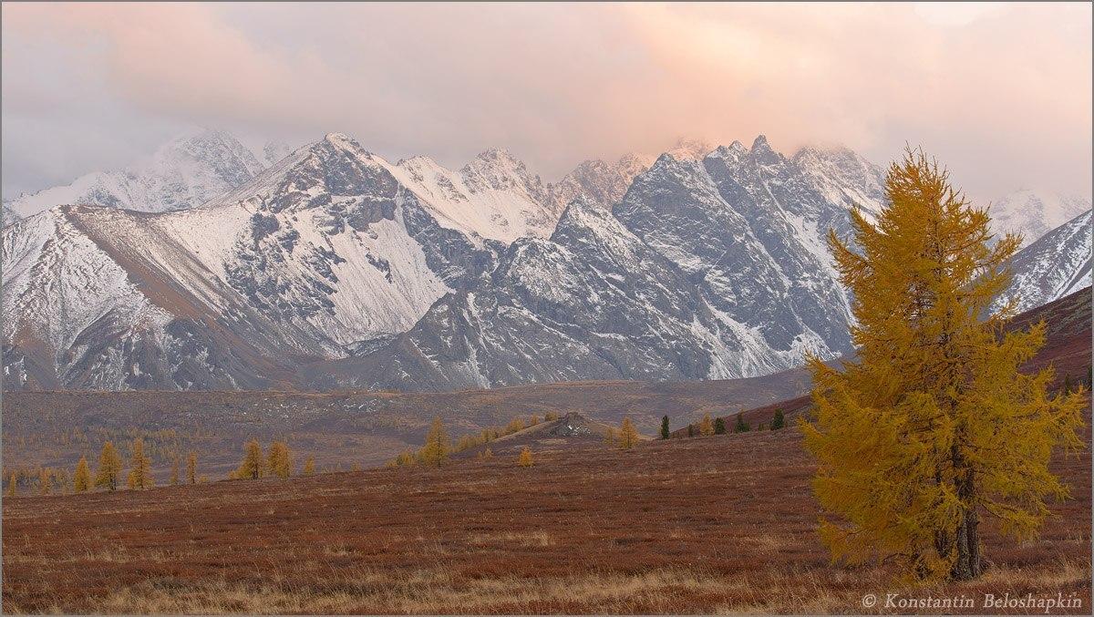 Республика Алтай, гора Каракабак.