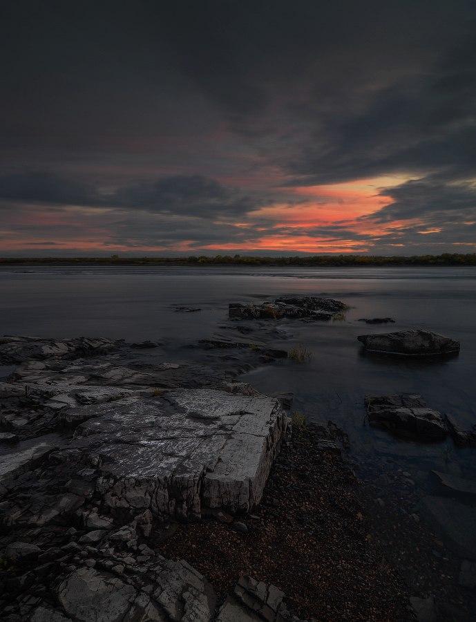 Томская область. Каменные обнажения.