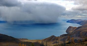 Рождение дождя из вод Байкала