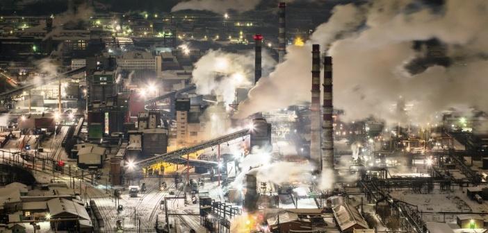 Индустриальный Кемерово. Фото: Вадим Махоров