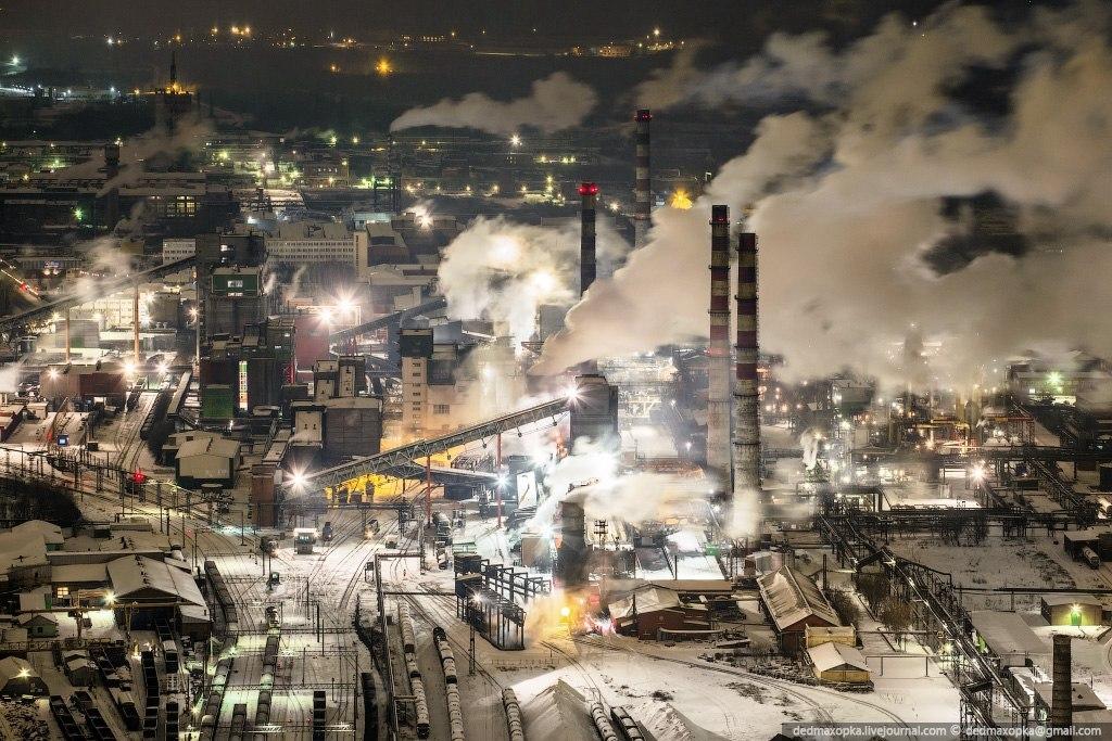 Индустриальный Кемерово.