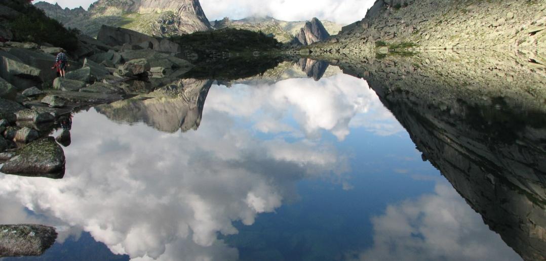 Озеро Горных Духов. Природный парк Ергаки