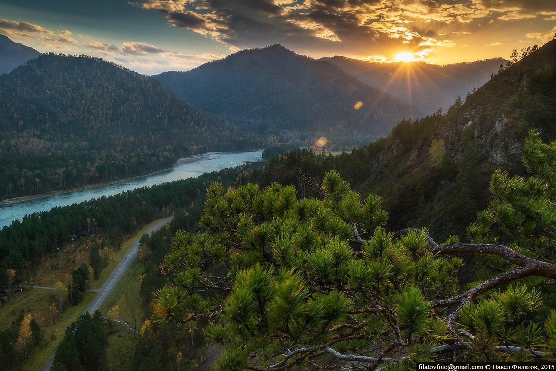 Алтайская сказка. Река Катунь.