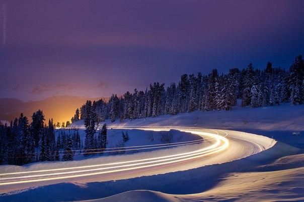Дорога к зимним Ергакам