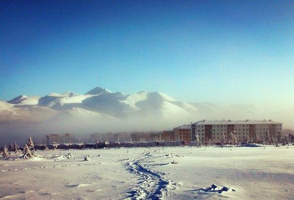 Поселок Депутатский, Якутия.