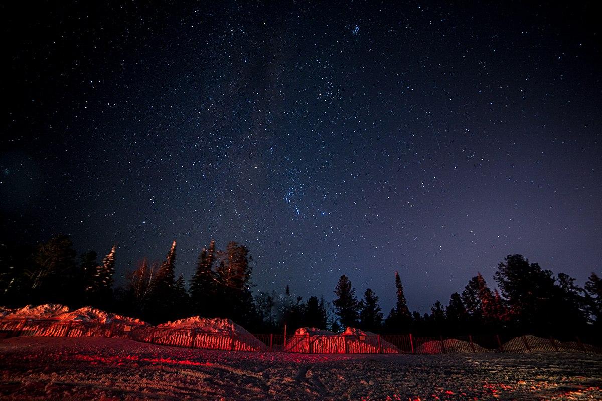 Ночное небо Бурятии