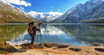 Среднее Мультинское озеро, Алтай, Фото