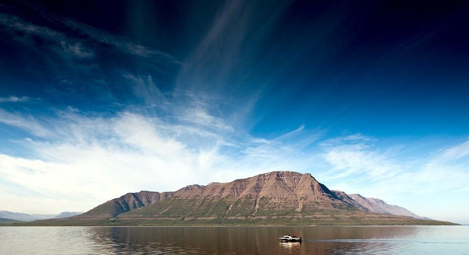 Озеро Лама, Плато Путорана, Красноярский край, фото
