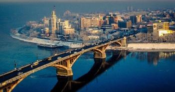 мост, Ангара, Иркутск, фото
